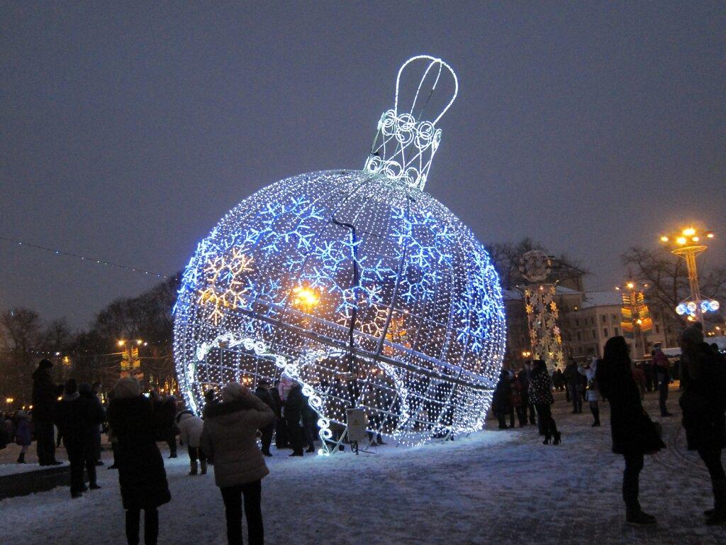 Белоруссия новогодняя