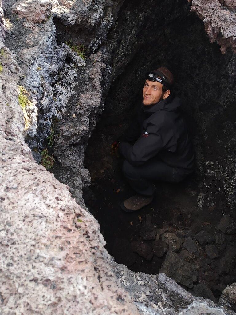 Знакомство с лавовыми пещерами. Вход или влаз!