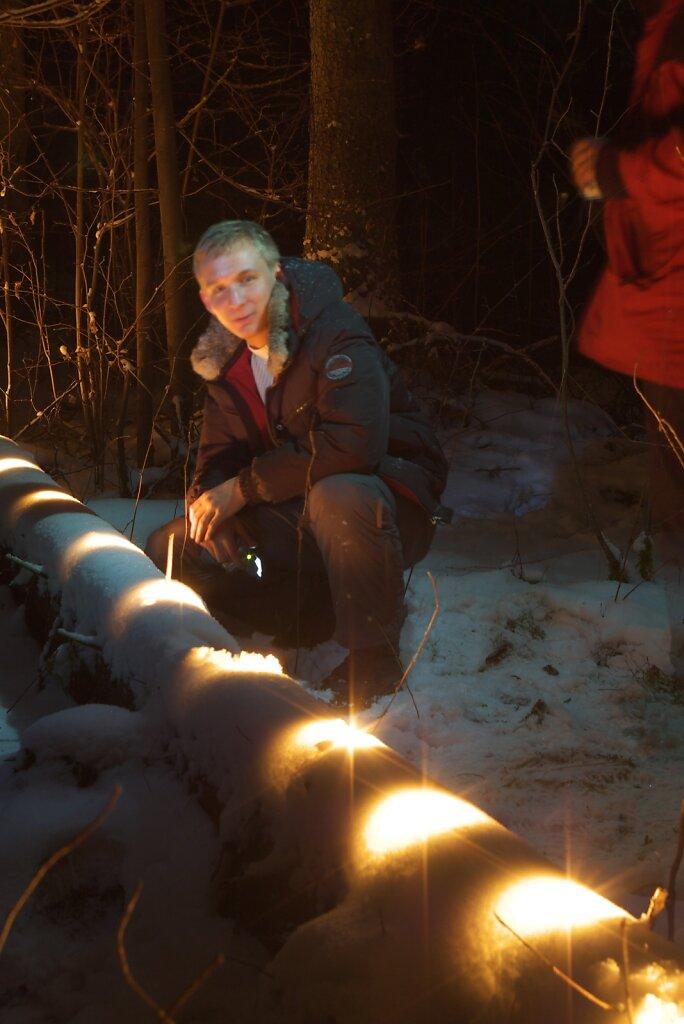 Встреча 2007 года в лесу у Истры