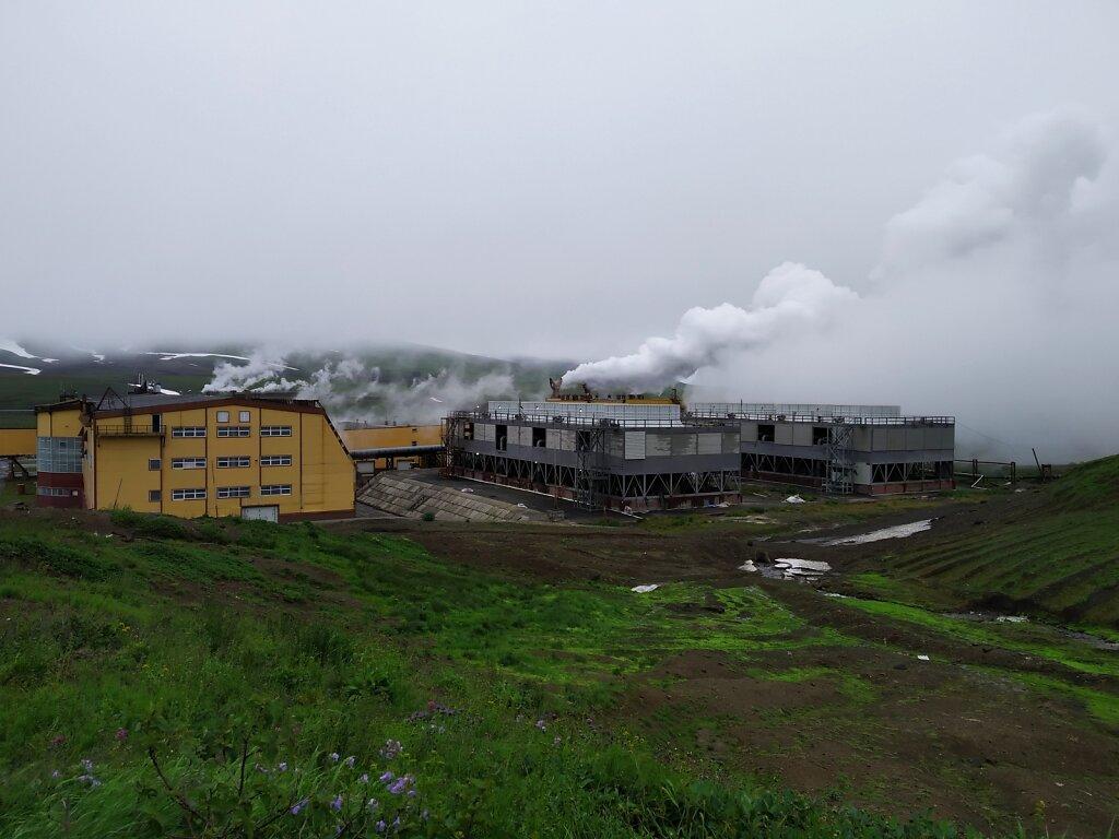 Мутновская геотермальная станция